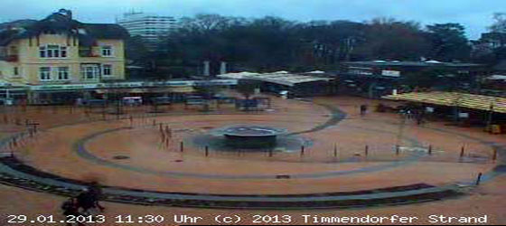 WebCam Timmendorfer Platz